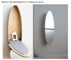 Iron table mounted on wall.. More at : WellDoneStuff.Com