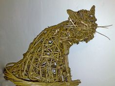 Willow Cat Sculpture
