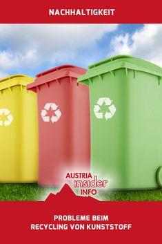 Die Probleme beim Recycling von Kunststoff sind vielfältig. Das beginnt bereits beim Sammeln in den Haushalten, geht über das Recycling selbst und endet bei der Wiederverwendung.