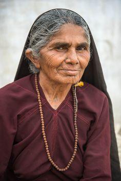 Rabari women often have many dots tattooed on their body.