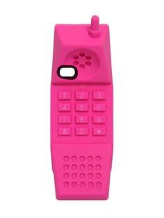 barbie handset phone case  kawaii party kei pop kei fairy kei harajuku fachin phone case phone accessories accessories tech moscino luisaviaroma