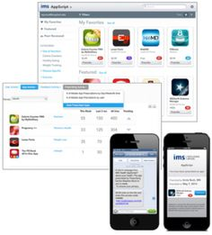 IMS Health app store to enable cross-platform app prescriptions and usage tracking