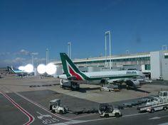 Alitalia aeroport Rome