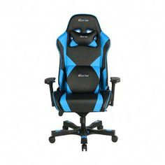 Absolute Office Clutch Chairz Premium Gaming and Computer Chair Color: Blue Classic Office Furniture, Home Office Furniture, Tubular Steel, Neck Pillow, Chair Pads, Gaming Chair, Modern Chairs, Chair Design, Steel Frame