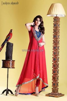 Zahra Ahmad Party Dresses 2013 2014 For Winter
