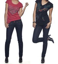 Os modelos de calças Colcci são confeccionados com um jeans totalmente confortável, moderno que funciona bem no corpo.