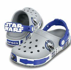 Star Wars crocs. My eyes are burning.