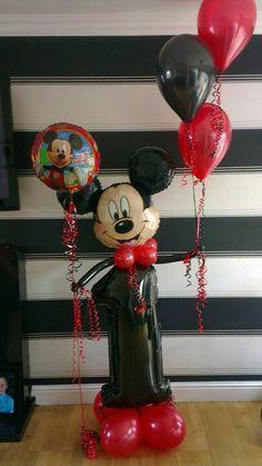 Jumbo number Mickey Mouse Balloon xx