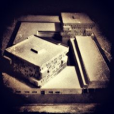 Plastico progetto Casa dello studente - student housing project.