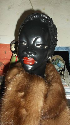 superb vintage negress head!!!!