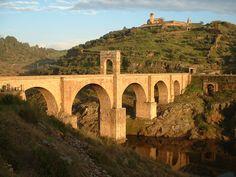 The Beautiful Network of Ancient Roman Roads The Alcantara Bridge across the River Tagus, Cáceres Province, Extremadura, Spain. Spain Tourism, Spain Travel, Architecture Romaine, Roman Roads, Roman Architecture, Renaissance Architecture, Arch Bridge, Roman Art, Spain And Portugal