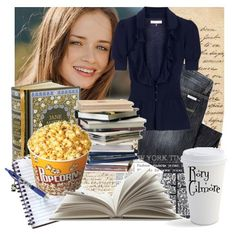 I love Rory Gilmore, and I actually have the Jane Austen book in the background!