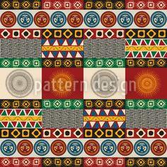 Seamless mayan, aztec pattern Art Print by rceeh Vector Pattern, Pattern Art, Print Patterns, Maya, Madhubani Art, Aztec Designs, Surface Pattern Design, Ornaments, Art Prints