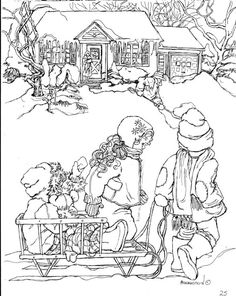 Classic Christmas Coloring Pages 4 Christmas Coloring Pages