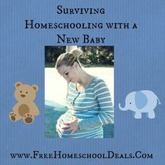 Surviving Homeschooling with a New Baby