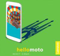 Смартфон Moto G5 Plus будет представлен на MWC 2017    С каждым днем больше покрывается подробностями предстоящее событие в мире информационных технологий – Mobile World Congress 2017 (MWC), куда привезут все самое наилучшее производители смартфонов, операторы сотовых сетей и технологические гиганты. В текущем году планирует устроить свое шоу на выставке Lenovo и уже приглашает на него. Вчера компания опубликовала в одном из своих блогов приглашение на ивент, где она обещает показать 26…