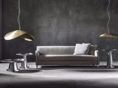 Upholstered fabric sofa with removable cover NEXT 12/12P Next Collection by Gervasoni design Paola Navone
