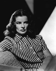 "Hollywood, California Katharine Hepburn as Christine Forrest in the film, ""Keeper of the Flame"". Old Hollywood Actresses, Hollywood Icons, Classic Actresses, Hollywood Glamour, Hollywood Stars, Classic Hollywood, Hollywood Cinema, Hollywood Fashion, Classic Films"