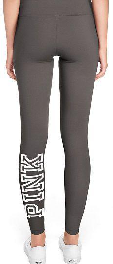 f7879da6e2d56 VS Pink Cotton Mesh Pocket Legging in Black White
