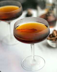 Toronto Cocktail  4 ounces rye whiskey or Canadian whisky 1/2 ounce Fernet Branca 1/2 ounce simple syrup 2 dashes bitters (see headnote) 2 thin strips orange or tangerine zest