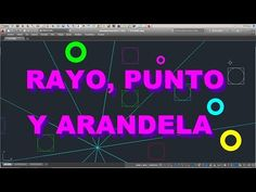 AUTOCAD LT 2015 - RAYO, PUNTO Y ARANDELA... OTRAS ÚTILES ENTIDADES DE DIBUJO !!