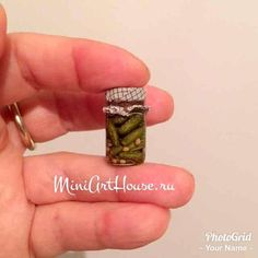 Miniature pickles Hand made