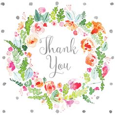 RP thank you floral wreath. Birthday Wishes Cards, Happy Birthday Messages, Happy Birthday Images, Birthday Greetings, Thank You Messages Gratitude, Thank You Greetings, Thank You Images, Thank You Quotes, Thank You Stickers