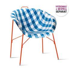 Stuhl Euphoria Gestell Orange | Stühle, Hocker, Arbeitsstühle