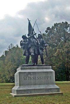 State of Mississippi Monument. Shiloh, Tennessee