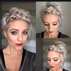 """3,406 mentions J'aime, 78 commentaires - Short Hairstyles  Pixie Cut (@nothingbutpixies) sur Instagram : """"@emilyandersonstyling with great new style"""""""