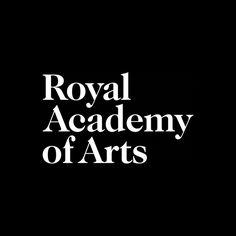 Royal Academy of Arts by Pentagram. #logotype #branding #design