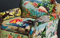 needlepoint sofa