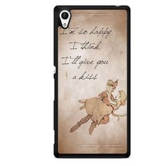 Peter Pan And Wendy Quote TATUM-8552 Sony Phonecase Cover For Xperia Z1, Xperia Z2, Xperia Z3, Xperia Z4, Xperia Z5