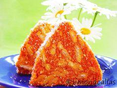 Salam de biscuiti de post cu morcovi si cocos 4