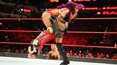 The Boss battles Absolution's Sonya Deville in hard-hitting singles combat. Wwe Fighting, The Jersey Devil, Wwe Sasha Banks, Raw Women's Champion, Wwe News, Wwe Photos, Wwe Superstars, Kicks, Boss