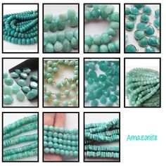 "Beautiful Sea Foam Stones Amazonite is called the ""hope stone"" because it inspires confidence and hope. GemsforJewels brings you the widest collection in these. Shop Now - 4th of July Sale - Flat 55% off!! https://www.etsy.com/in-en/shop/gemsforjewels"