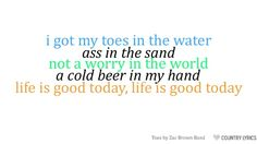 Zac Brown Band :)