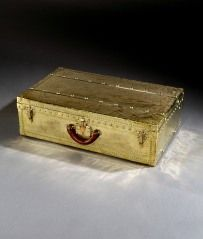 Rare All-Brass 'Explorer's Suitcase' by Louis Vuitton, c. 1910 at 1stdibs