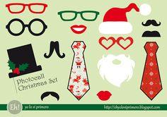 Eh! Yo lo ví primero: Photocall Christmas Set