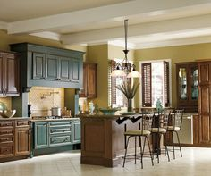 Contrasting Kitchen Cabinets Stylish Two Tone Looks  house & home contrasting cabinets contrasting kitchen cabinets stylish two tone looks contrasting kitchen cabinets stylish two tone looks b. Cabinet Colors, Rustic Kitchen, Contemporary Kitchen, Kitchen Design, Decora Cabinets, Cabinet, Stylish Kitchen, Contrasting Kitchen Cabinets, Home Decor