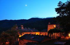 Tuscan Hilltop Hamlet
