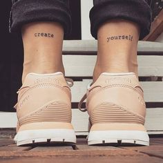 """Love the placement and font, not necessarily the words.  """"Walk Humbly"""" would be great for that if I don't end up doing the other thing on my hand. (Micah 6:8)"""