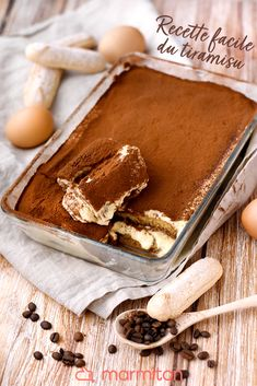The original tiramisu recipe! - We love this quick homemade tiramisu recipe that is easy to prepare and that everyone will love!