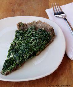 Torta salata con sole farine naturalmente senza glutine, farcita con ricotta e spinaci.