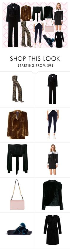 """""""This is the life"""" by monica022 ❤ liked on Polyvore featuring Roberto Cavalli, Fendi, Vetements, SPANX, Yves Saint Laurent, English Factory, Tory Burch, Maison Margiela, Figs by Figueroa and Velvet by Graham & Spencer"""