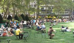 """To Make a Great Third Place: PPS & Andy Manshel's response about redesigning Bryant Park """"It is only through an iterative process of implementation that REAL feedback can be obtained from citizens about how they actually use public space. The thing that kills public spaces is the arrogance of imposing on a community a designer's knowledge and preferences on a space that can't be backed out of after a space has been built."""""""