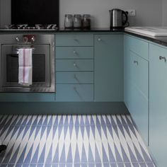 Popham Design tiles floor pattern