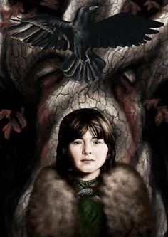 """bran and the three eyed crow"" | kozick on DeviantArt"