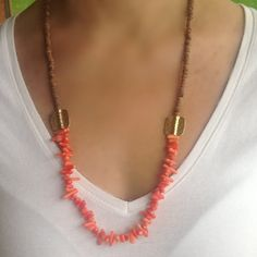 Hey, I found this really awesome Etsy listing at https://www.etsy.com/listing/169899151/coral-necklace-coco-necklace-coconut