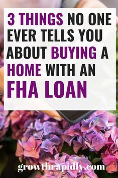 Buying a home with an FHA loan has great benefits but only if you know them Read on to find out. buying a house buying a home first time fha loans fha loan first time fha loans first time credit score Renting Vs Buying Home, Home Buying Tips, Buying Your First Home, Home Buying Process, Dave Ramsey, Credit Score, Credit Cards, Credit Rating, Build Credit